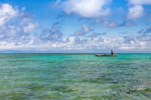 Fisherman of Sainte Marie island