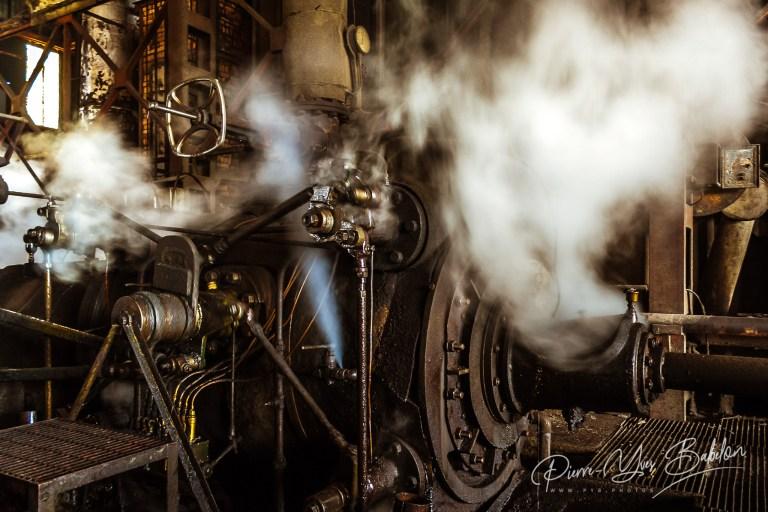 Engine of sugar mill