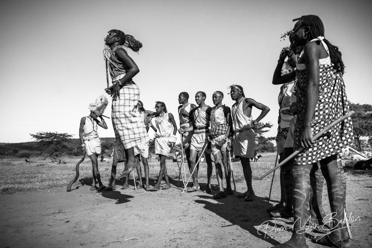 Guerriers Maasai