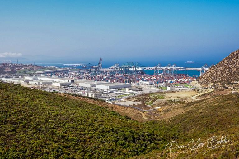 Le port de Tanger Med, Maroc