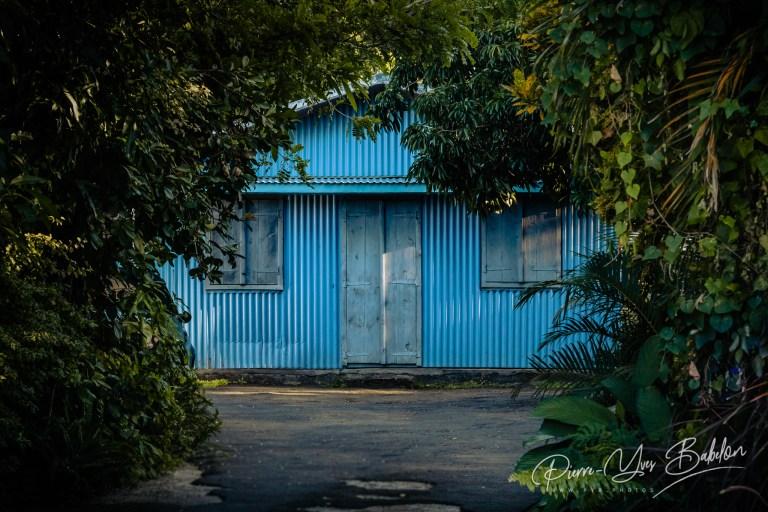 Case créole de l'île de La Réunion