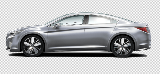 cropped car