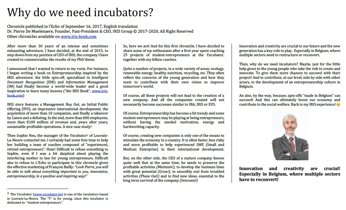 Why do we need incubators - jpeg