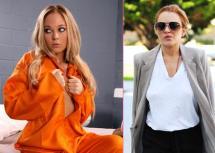 Lindsay Lohan Scarlett Fay porn star movie lindsay-lohan-jail-hustler