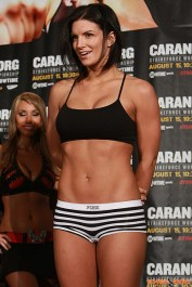 Gina Carano semi nudity
