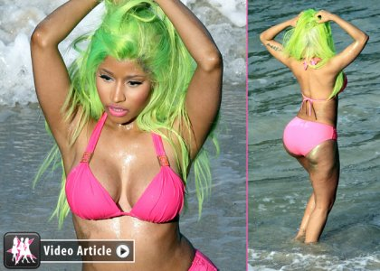 Nicki Minaj starships pics   nicki-minaj-pink-star