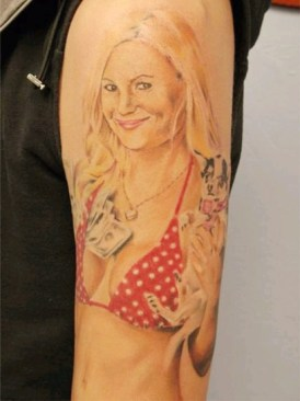 Rock Of Love Megan Haserman portrait tattoo