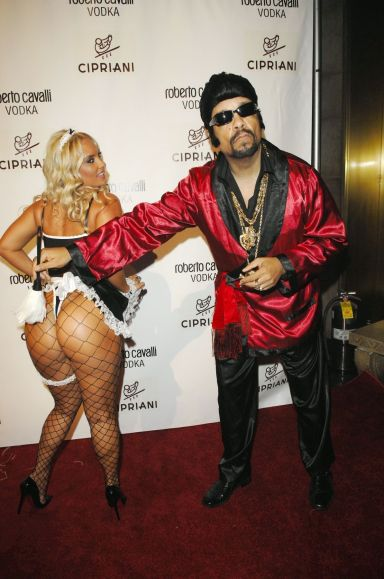 Nicole Coco Austin and rich hubby Ice-T