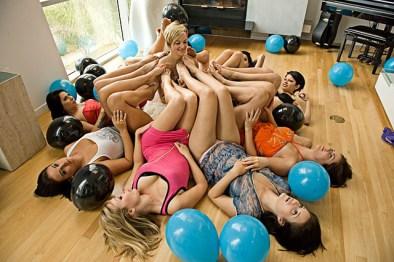Belladonna lesbian feet party toe sucking feet licking