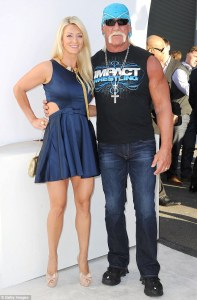 Hulk Hogan and his daughter look-a-like wife Jennifer McDaniels