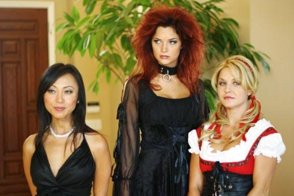 Jayden Cole Bikini Frankenstein lesbian trio