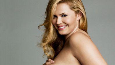 Katia Zharkova nude in Jan 2012 PLUS Model Magazine
