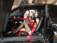 Amy Anderssen Jessica Rabbit car
