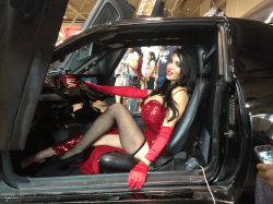Amy Anderssen Jessica Rabbit car