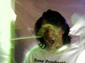 Cindy Crawford shit-spraying Rick Masters face