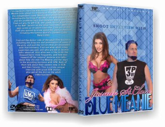 Jasmin St. Claire ECW bluemeanie