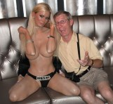 Jenna Jameson with an old dude