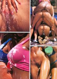 Jasmin St.Claire lesbian pics High Society januart 1996__09
