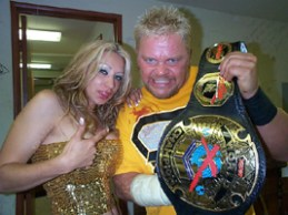 Lizzy Borden and Shane Douglas xpw2