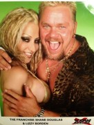 Lizzy Borden and Shane Douglas