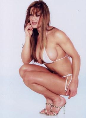 Chyna / Joanie Laurer skinny bikini