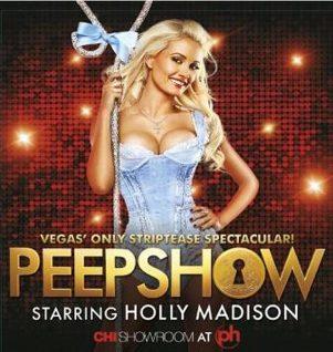 Pregnant Holly Madison in Las Vegas Peepshow