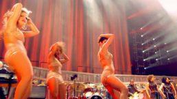Clare Turton Tina Turner dancer black short hair 01