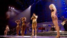 Clare Turton Tina Turner dancer black short hair 08