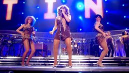 Clare Turton Tina Turner dancer black short hair 09