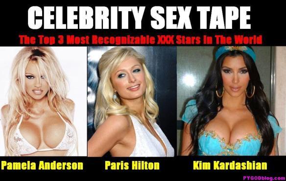 Pamela Anderson_Paris Hilton_Kim Kardashian Sex Tape