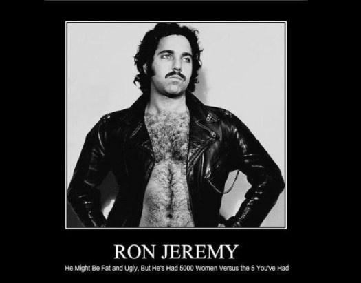 Ron Jeremy had 5000 women