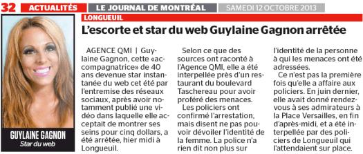 Guylaine Gagnon en prison