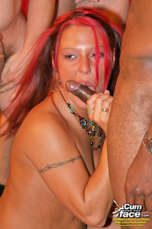 COHF Arianna Cum On Her Face  01