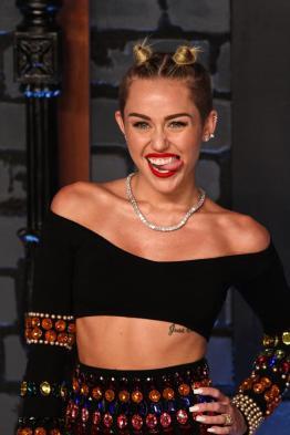 Miley Cyrus tongue 2013 MTV