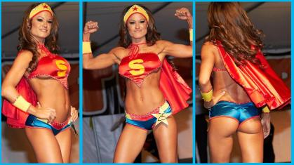 Miss Tessmacher superman