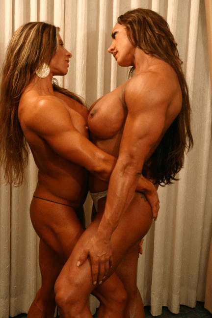 Naked female bodybuilder angela salvagno fucks herself 3