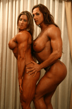 Angie Salvagno and Amber Deluca 06