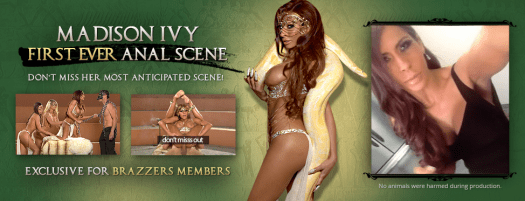 Madison Ivy first ever anal scene