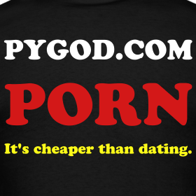 Porn is cheaper than dating