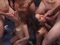 Cock Sucking Championship Gina Ryder vs Dynamite