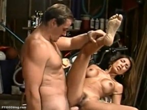 Jasmin St Claire barefoot anal