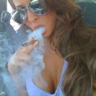 Madison Ivy smoke