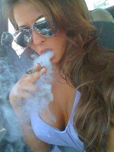 Madison Ivy smoke