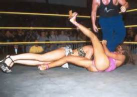Jasmin St Claire Pro Wrestling 01