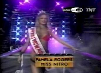 Pamela Rogers Turner Miss WCW Nitro 1997