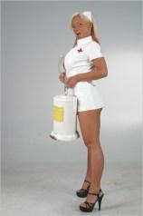 Sharon Da Vale sexy nurse