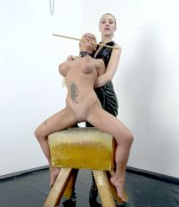 Sharon Da Vale womanhandled
