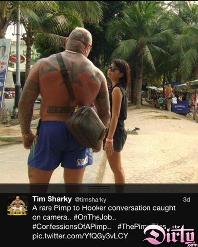 Tim Sharly pimp hooker conversation