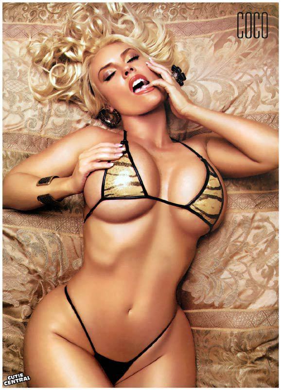 Nicole Coco Austin nude