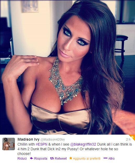 Madison Ivy pornstar extraordinaire twitter